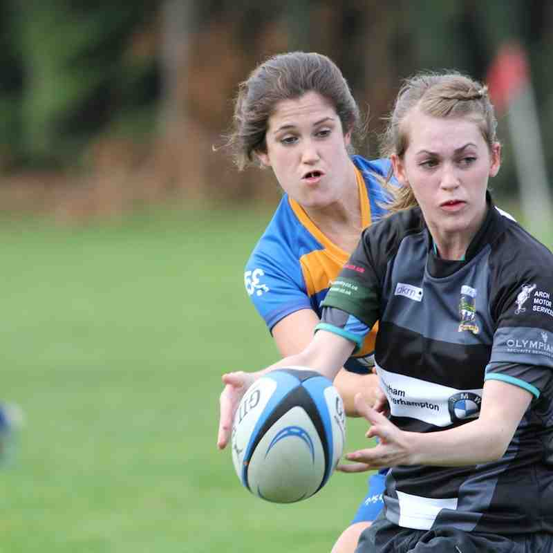 2014Sep14 1of2 Bridgnorth Women vs Old Leamingtonians Ladies