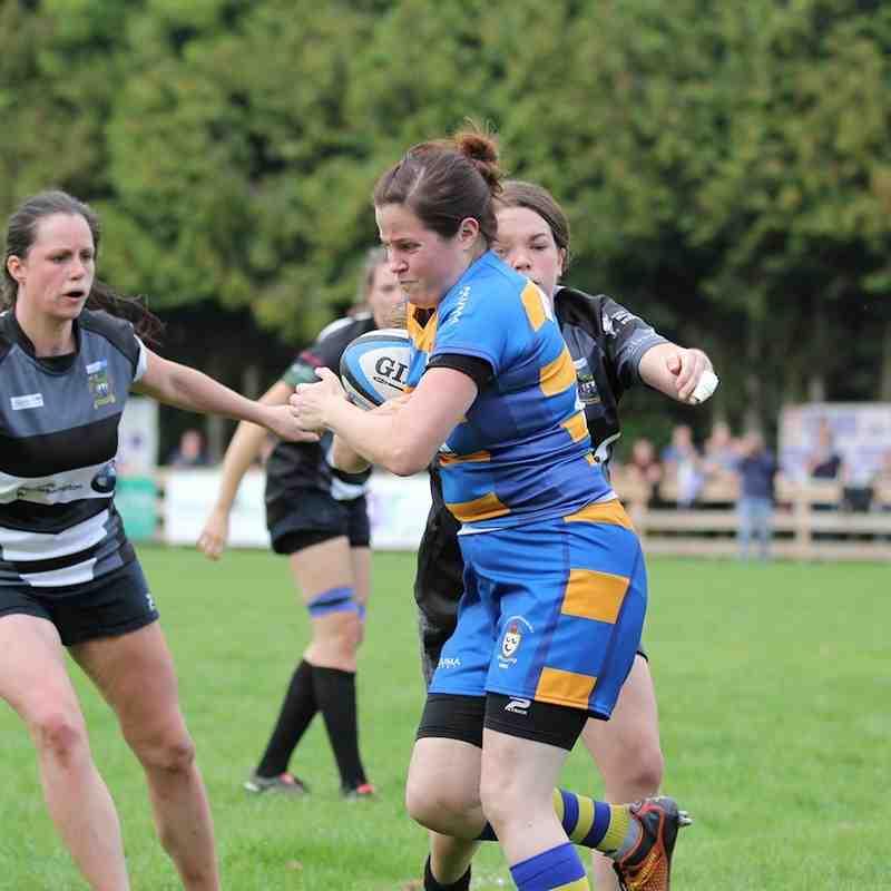 2014Sep14 2of2 Bridgnorth Women vs Old Leamingtonians Ladies