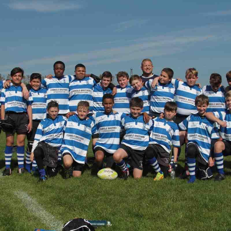 New U'13s Team Photo