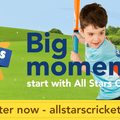 All Stars Cricket sign up is now Live!