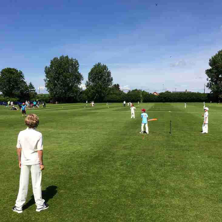 The Sun Shines on The Winterbourne U9 Festival