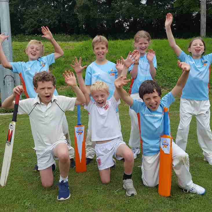 U9s (inspired by England) score 433!