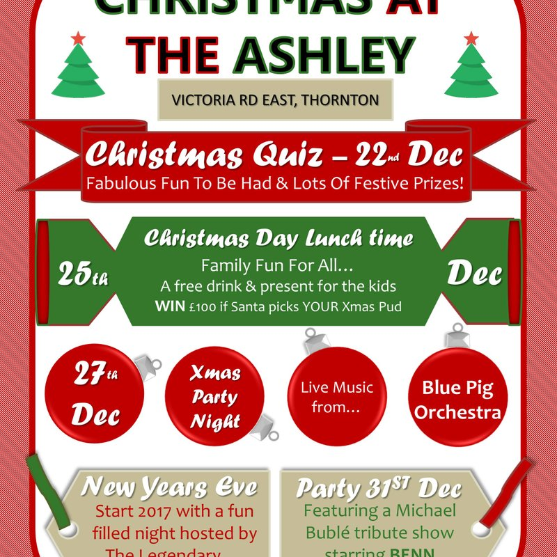 Christmas Events at The Ashley Club