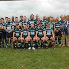 Abbey out of Intermediate cup after brave effort away to North Dorset RFC