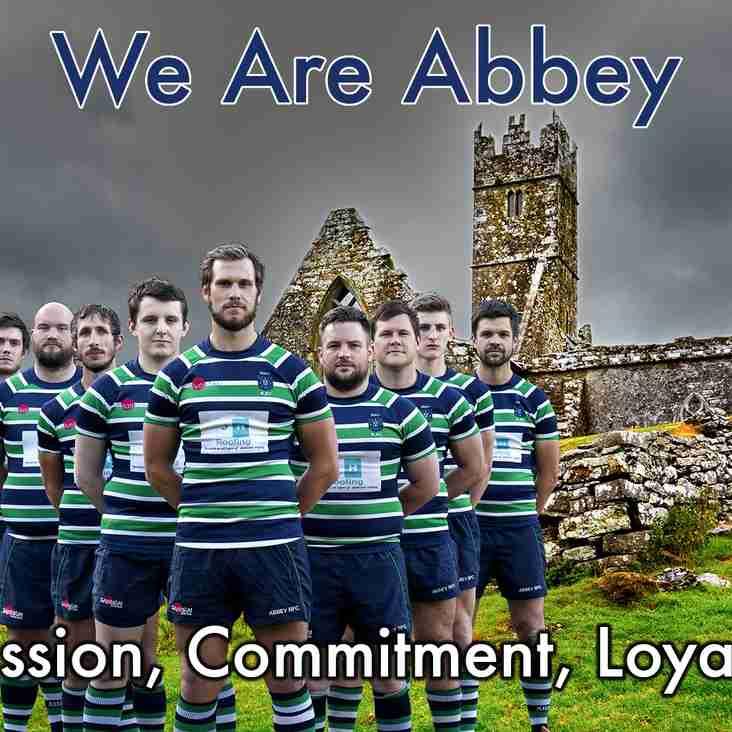 Abbey 1st XV Squad 2016/17 season