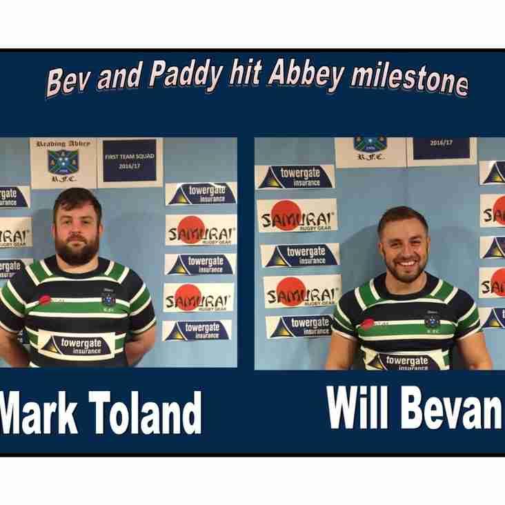Bev and Paddy reach Abbey milestone