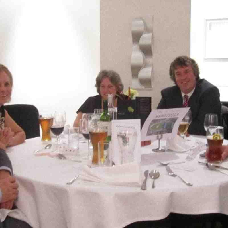 Ashford CC Annual awards dinner 2013