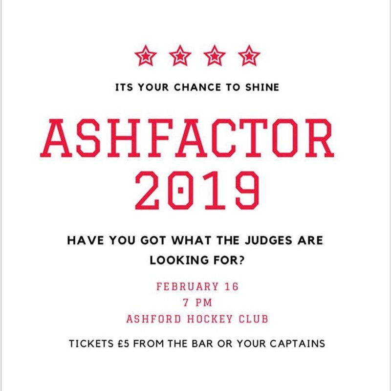 Ashfactor 2019 - Stars in your eyes?