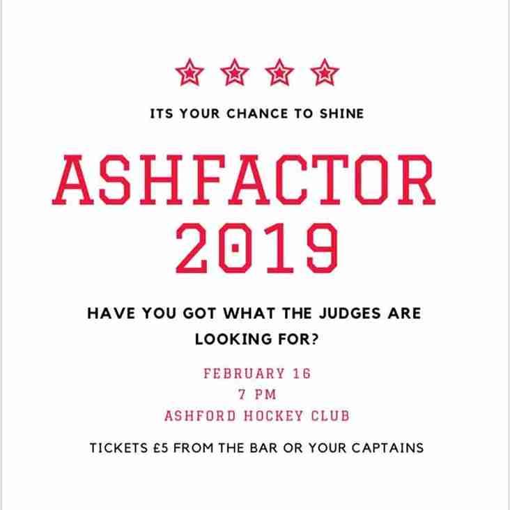 Ashfactor 2019 - Stars in your eyes?
