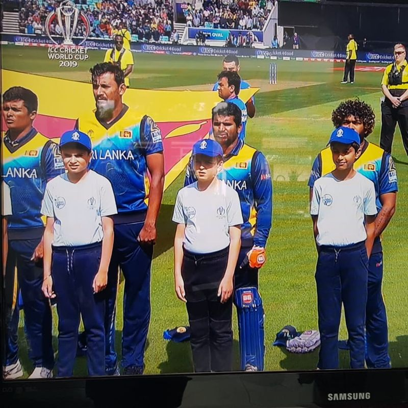 Ashford juniors star at Cricket World Cup
