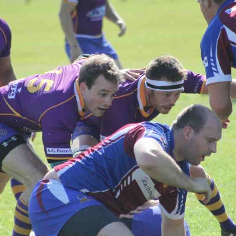 30 August 2014 - BT National Cup 1st round - Marr Rugby away v Irvine RFC