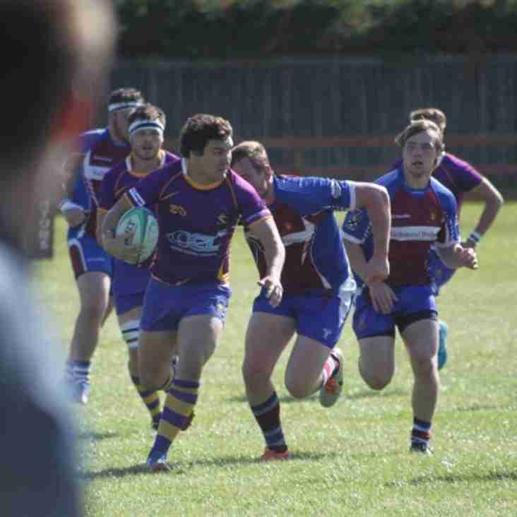 Match report - BT Cup round 1 Irvine RFC v Marr Rugby