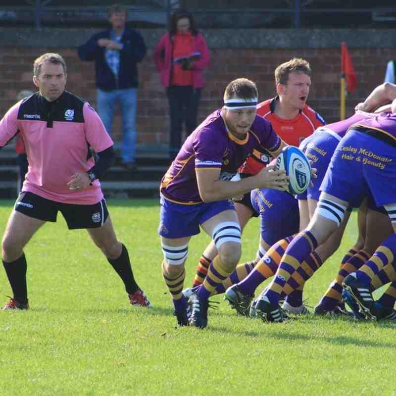 Marr Rugby 1st XV - BT NL1 away v Stewart's Melville (20.09.14)