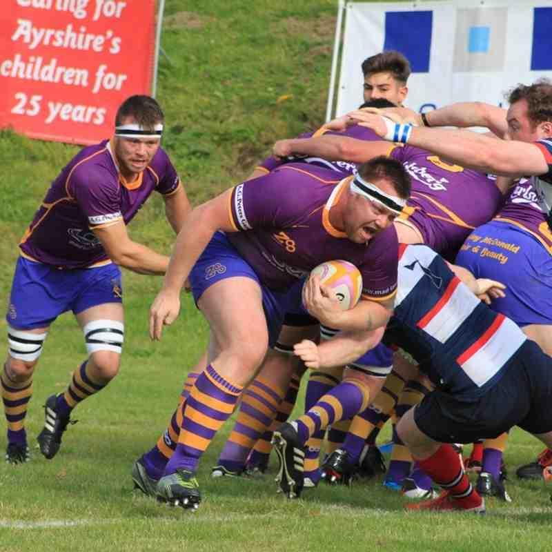 Marr Rugby: BT NL1 v Aberdeen Grammar (27 September 2014)