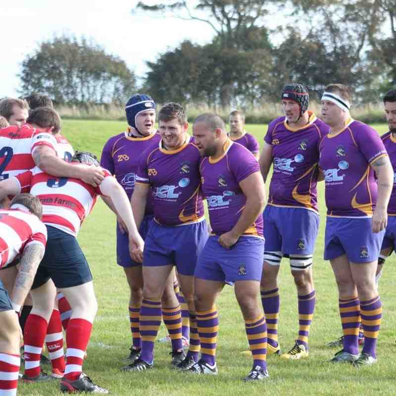 Marr Rugby: BT NL1 v Peebles RFC (11 October 2014)