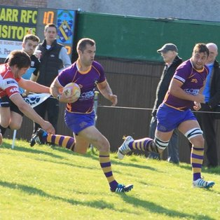 Marr Rugby 1st XV match report