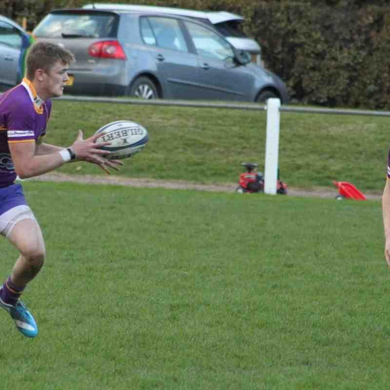 BT NL1 Marr Rugby v Selkirk RFC (26 October 2014)