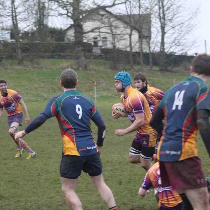 BT Reserve League West 1 - Marr Rugby v Hillhead Jordanhill (29/11/14)