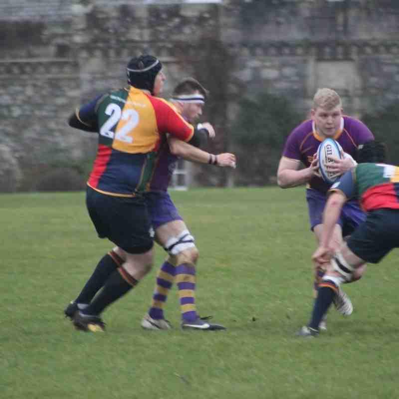 BT NL1 - Marr Rugby v Hillhead Jordanhill RFC