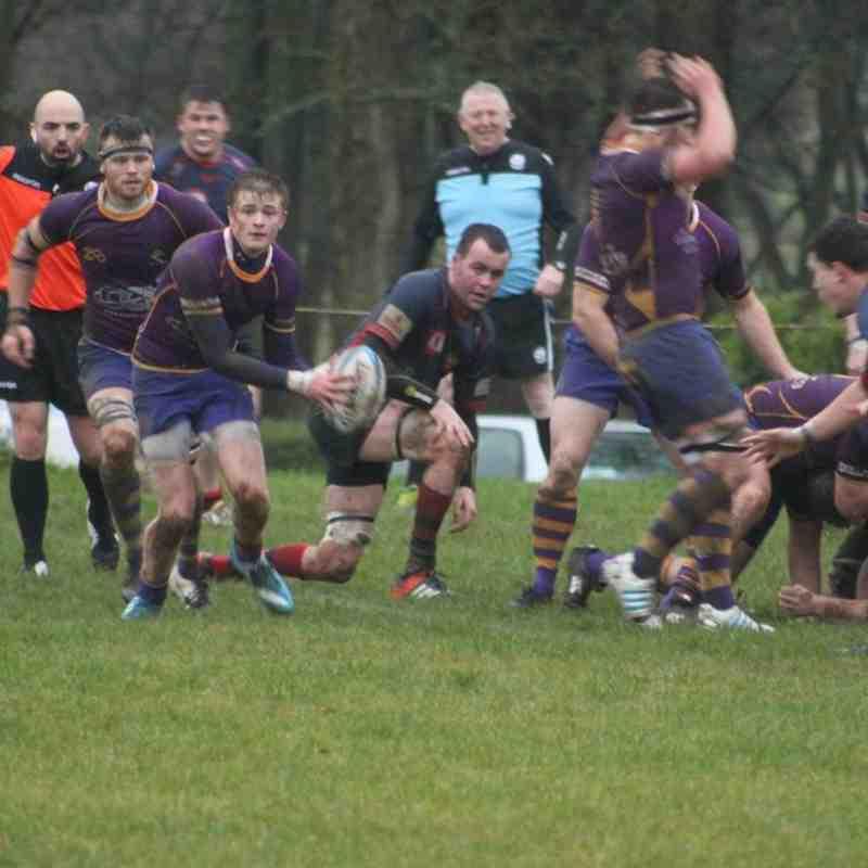 BT NL1 - Marr Rugby v Dundee HSFP (6/12/14)