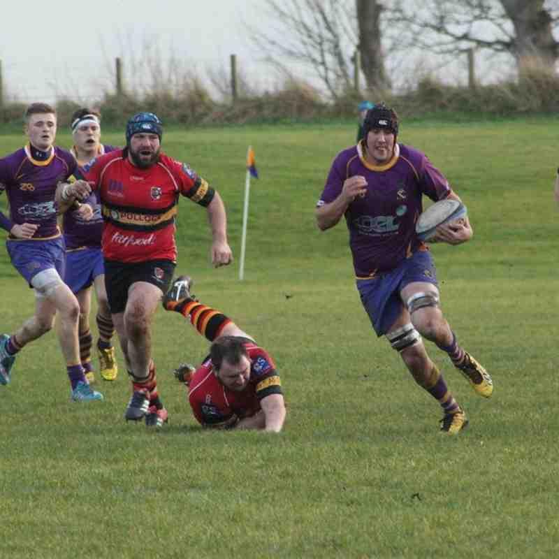 BT NL1 Marr Rugby v Stewart's Melville FP RFC