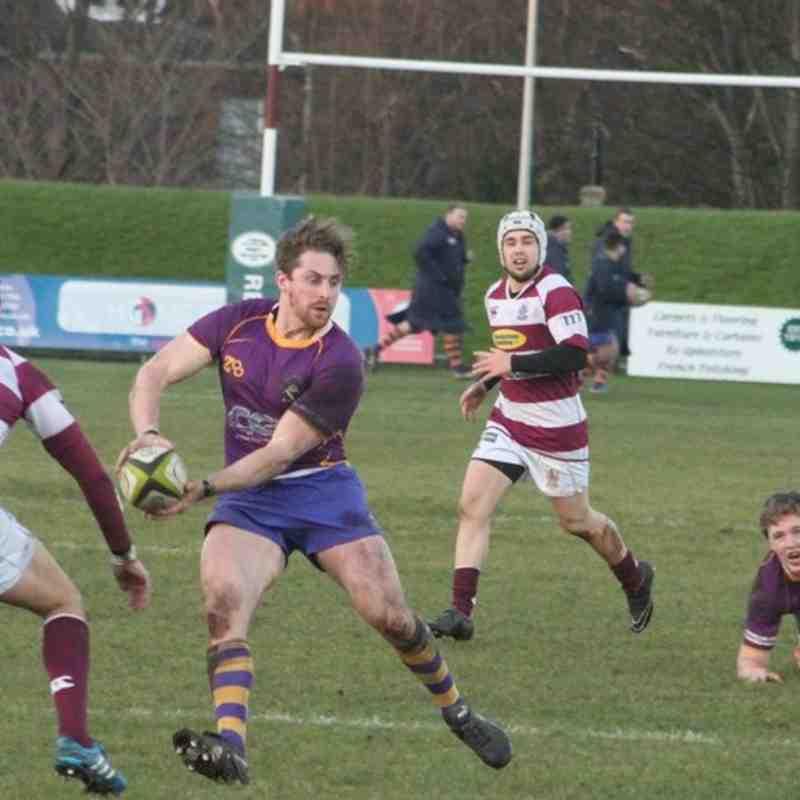 BT NL1 Watsonians FC v Marr Rugby (3/1/15)