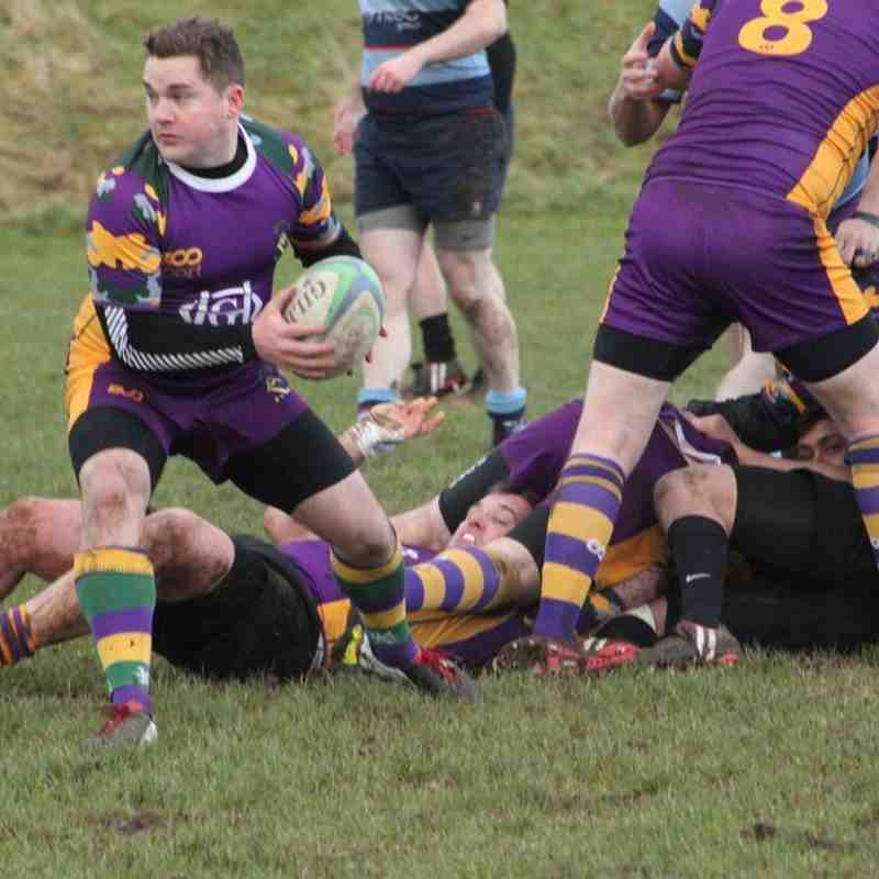Marr Rugby 3s v Allan Glen's 2s - 10 January 2015