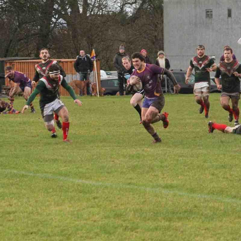 BT NL1 - Marr Rugby v GHA