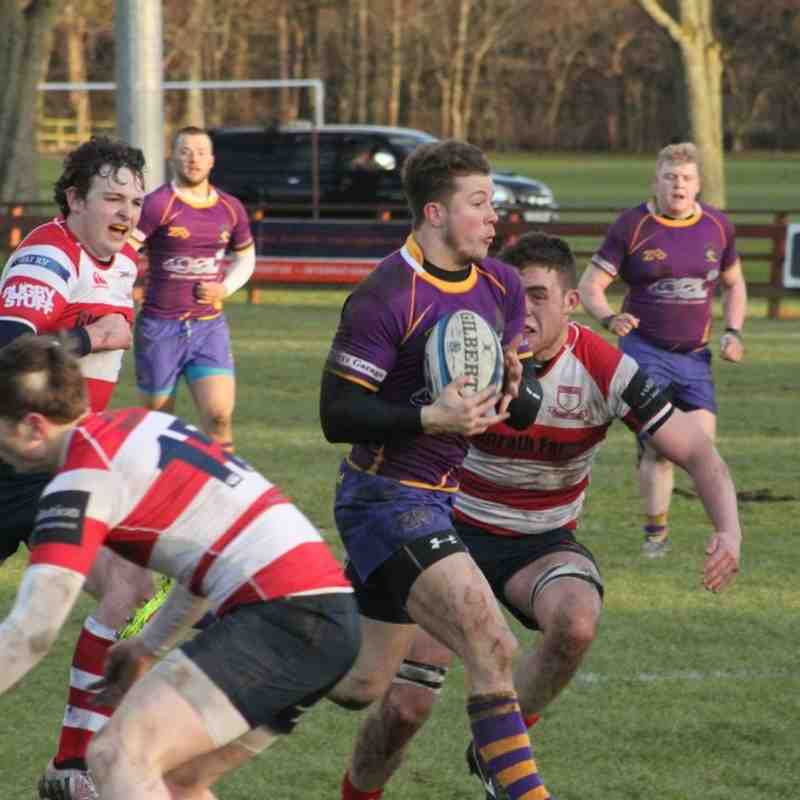 BT NL1 - Peebles RFC v Marr Rugby (24 January 2015)
