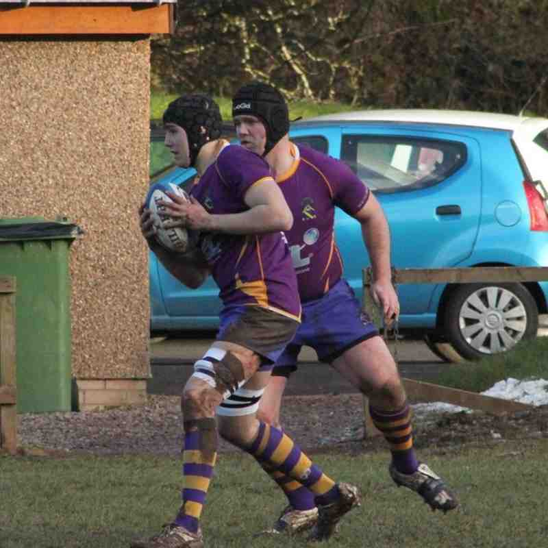 BT NL1  Jed-Forest RFC v Marr Rugby (31/1/15)