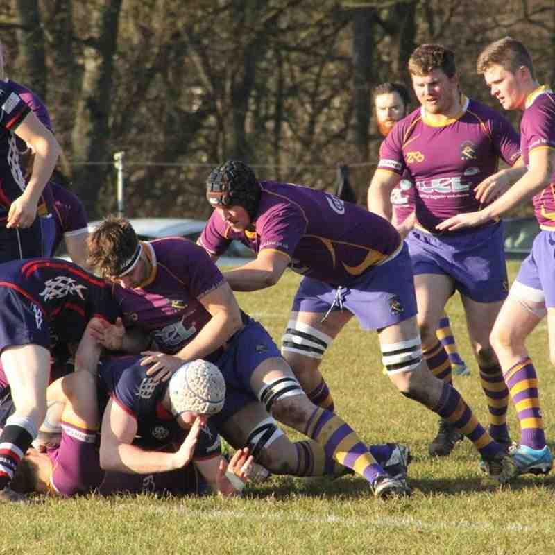 BT NL 1 -  Marr Rugby v Selkirk RFC (14/2/15)