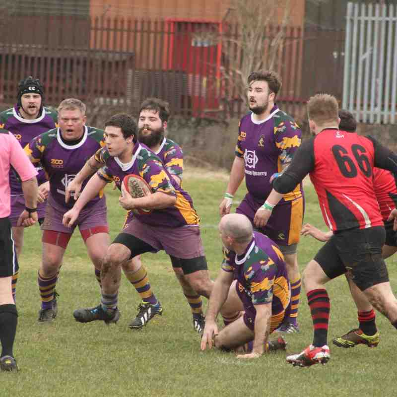BT Reserve League West 2 - Clydebank RFC 2s v Marr Rugby 3s (28/2/15)