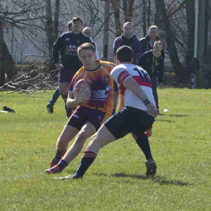 Marr Rugby 2nd XV match report - v Kilmarnock RFC (21 March 2015)