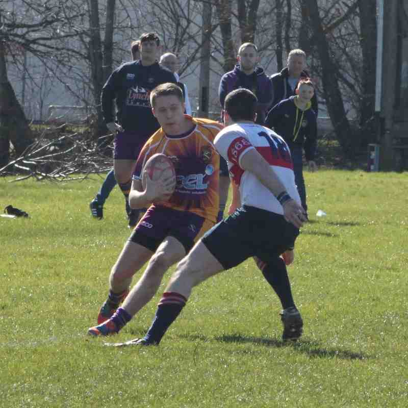 Masr Rugby 2nd XV v Kilmarnock RFC 2nd XV (21/3/15)