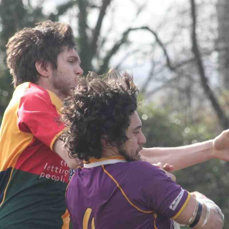 BT NL 1 Marr Rugby v Hillhead Jordanhill (28 March 2015)