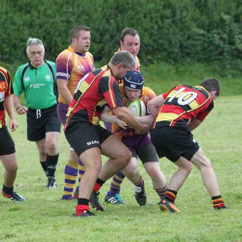 pre season friendly Marr Rugby 2s v Greenock (22 August 2015)