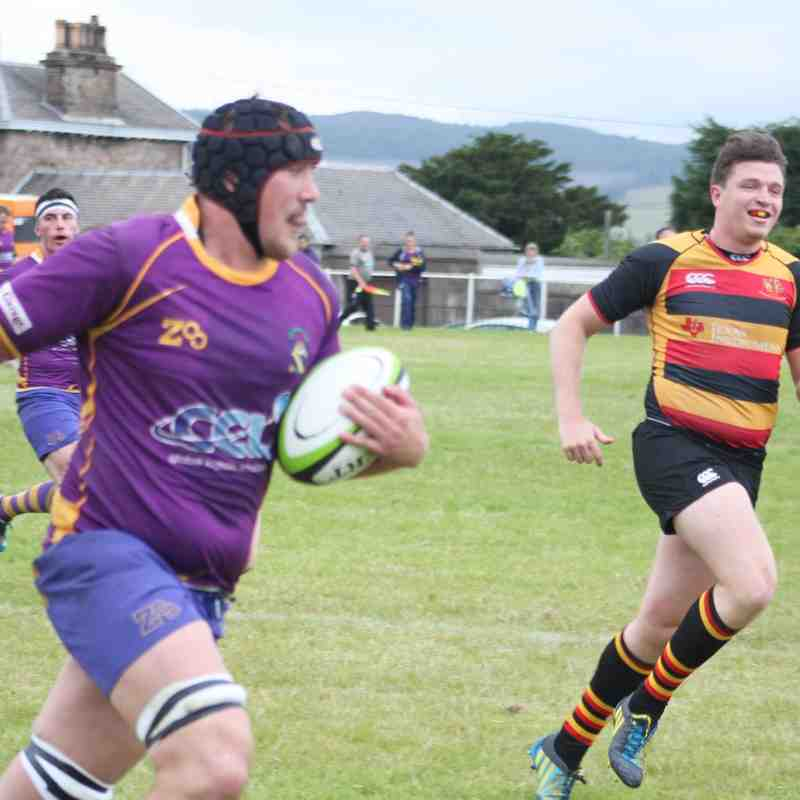 pre-season 1s v Greenock (22 August 2015)