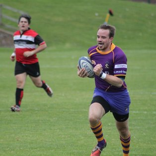 Marr on fire with 12 try romp