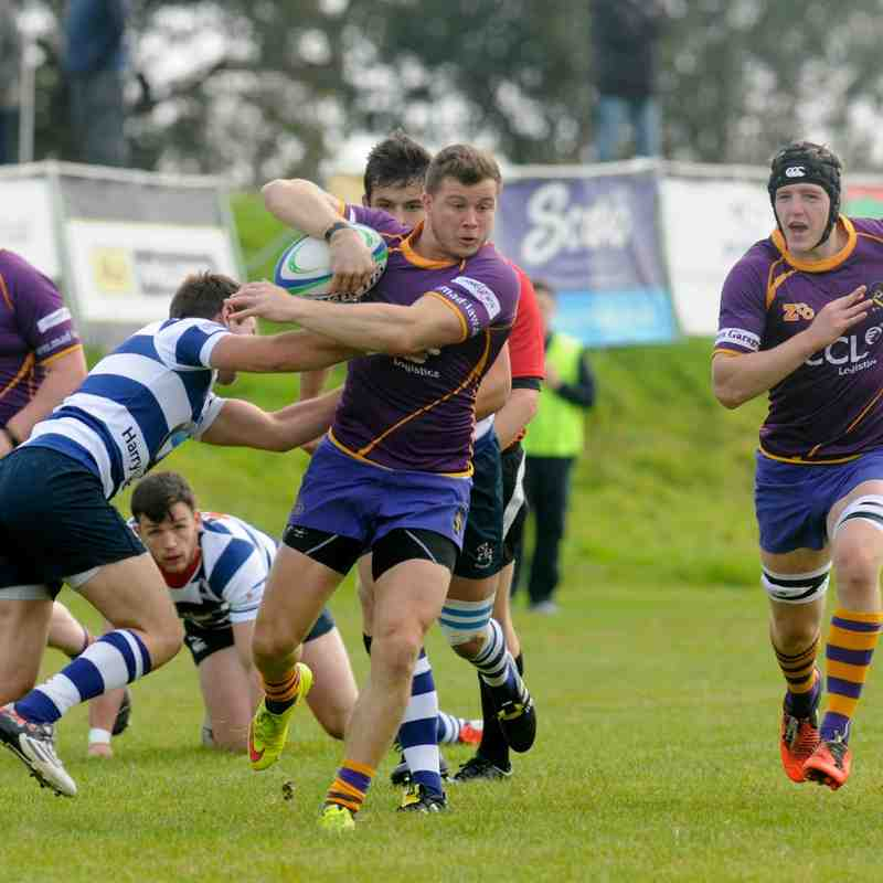 BT NL1 Marr Rugby v Howe of Fife RFC (3 October 2015)
