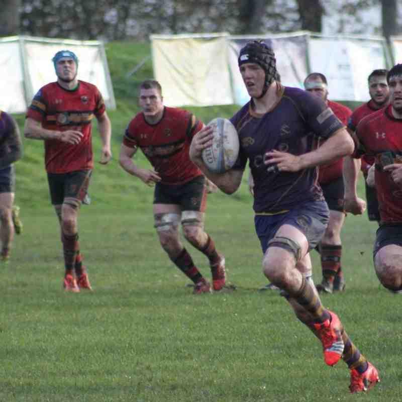 BT NL1 Marr Rugby v Stewart's Melville RFC