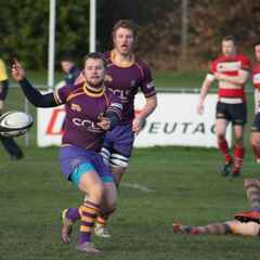 BT Premiership - National League 1 play-off - Marr Rugby squad
