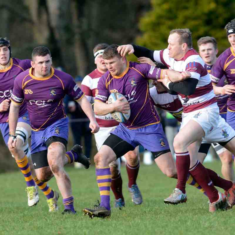 BT NL1 Marr Rugby v Watsonians (13 February 2016)