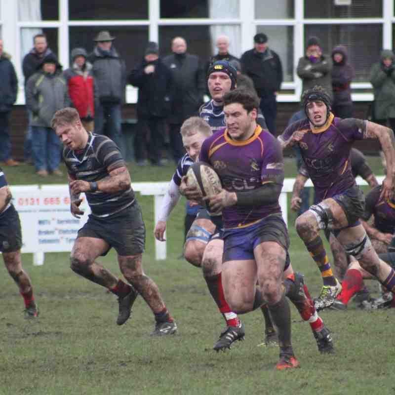 BT NL1 Musselburgh RFC v Marr Rugby (20 February 2016)