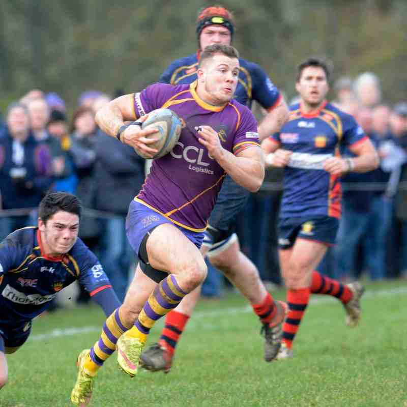 BT Cup Round 3 - Marr Rugby v Dundee High Rugby (27 February 2016)