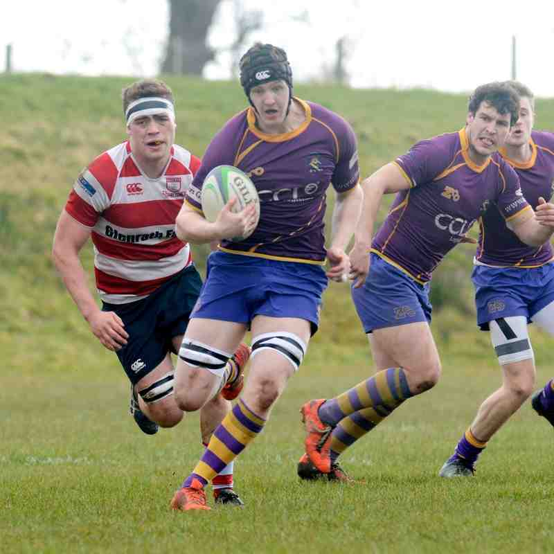 BT NL1 Marr Rugby v Peebles RFC (19 March 2016)