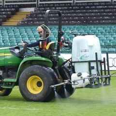 Marr Rugby - pitch maintenance