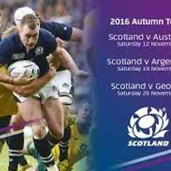 Autumn Tests 2016 - Support Scotland and Marr Rugby at the same time