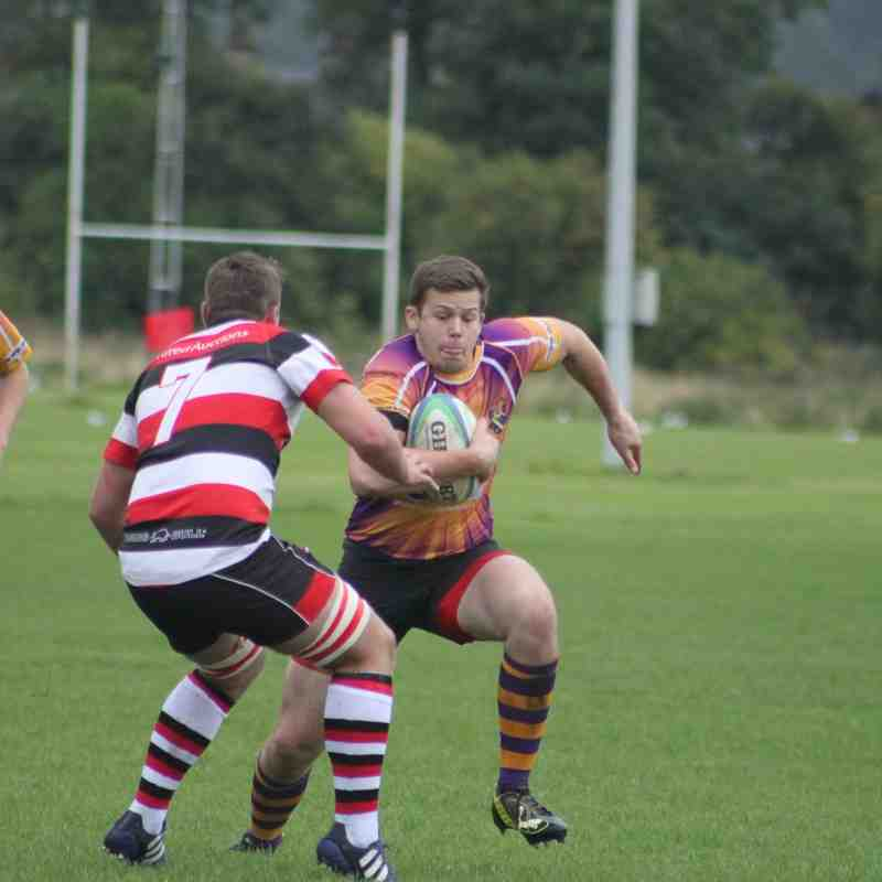 Pre-season match Marr Rugby 2s v Stirling Country RFC 2s (20.8.16)