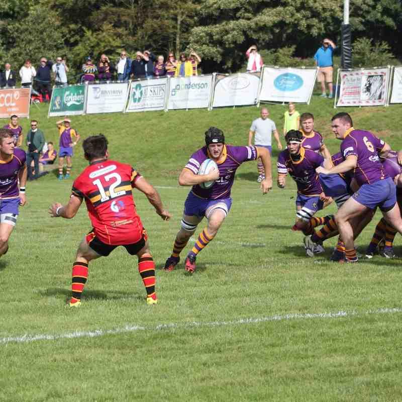 BT NL1 Marr Rugby v Stewart's Melville RFC (10 September 2016)