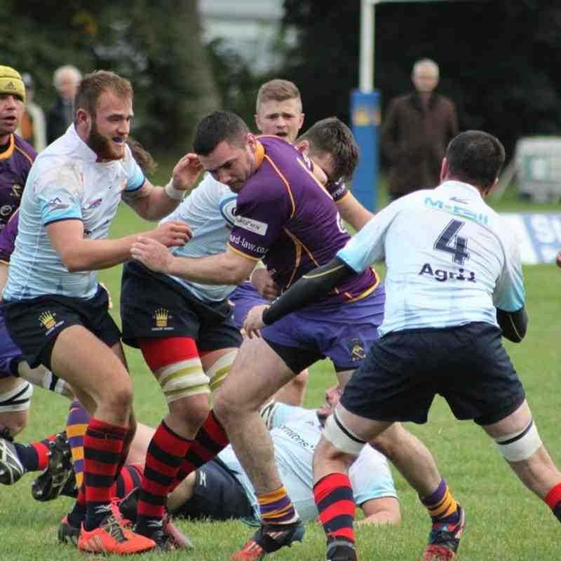 BT NL1 Dundee HSFP v Marr Rugby (1 October 2016)